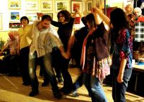 Ceilidh dancing Nov12