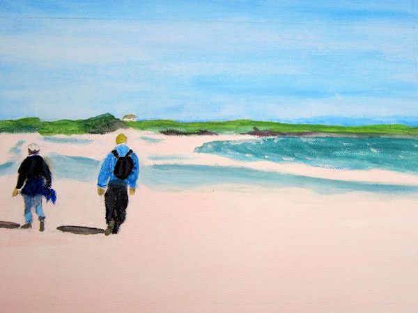Tiree Beach Walk